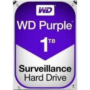 """Western Digital Hard Drive WD10PURZ WD Purple AV 3.5/"""" 1TB 64MB SATA 6Gb//s 5400"""