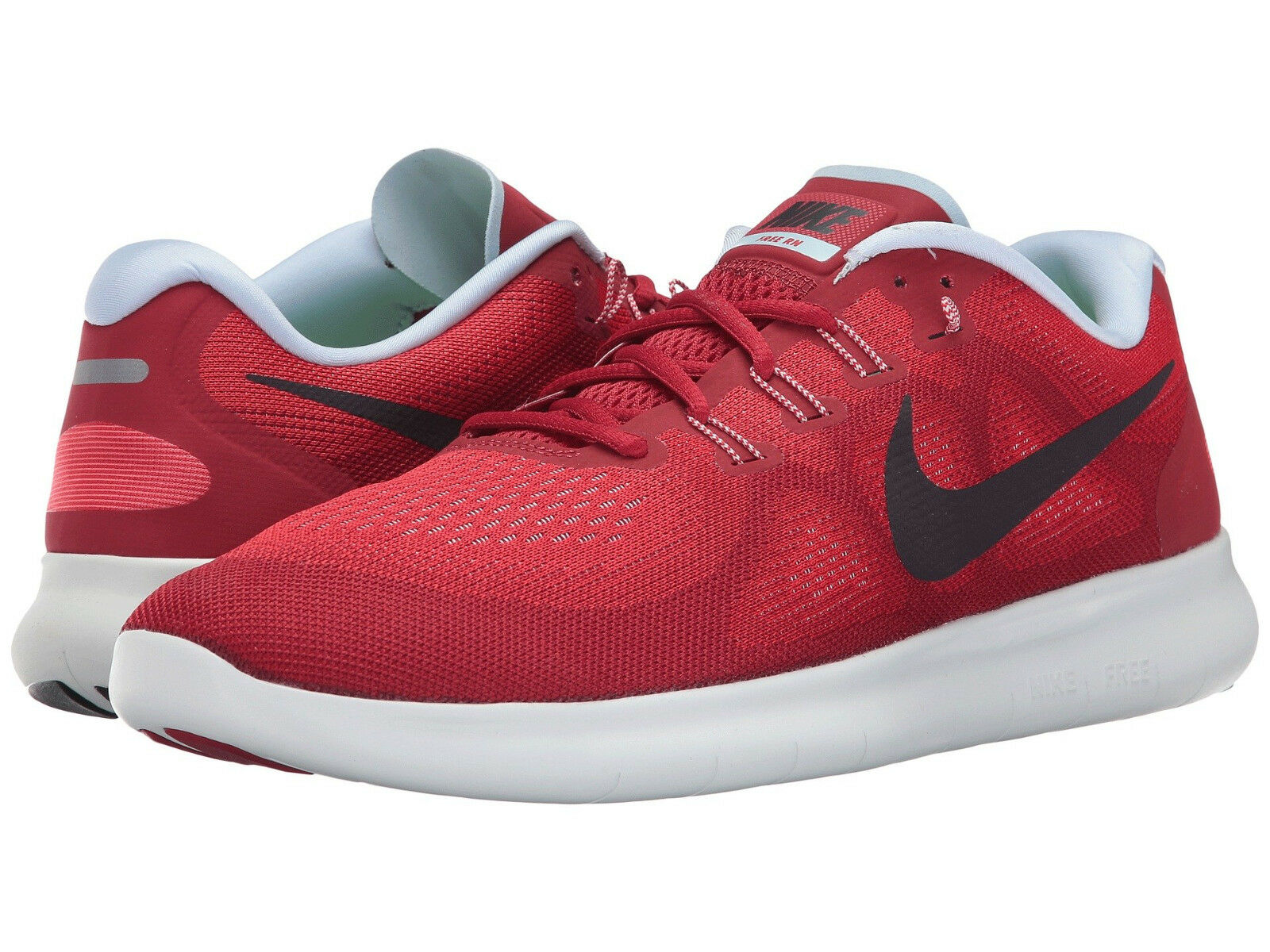 Nike Men's Free RN Sz US 14 M Red Mesh Running Sneakers Shoes 100.00