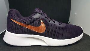 d3d5533662d Nike Wmns Tanjun Burgundy Metallic Red Bronze Women Running Shoes sz ...
