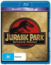 Jurassic Park Ultimate TRILOGY 1+2+3 : NEW Blu-Ray