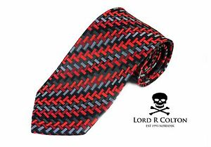 Lord R Colton Masterworks Tie Sapphire the 2nd Law Necktie $195 New