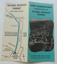 Brochure For The George Washington Bridge Connection To Palisades Inter. Pkway