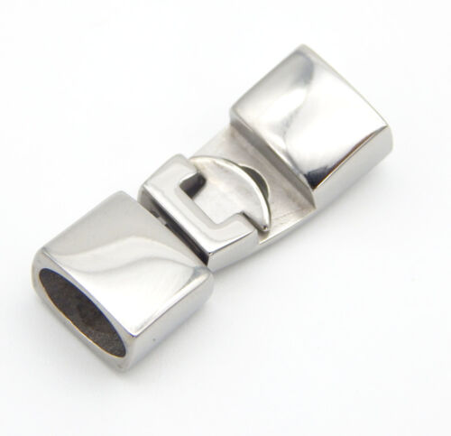 1Sets Silver Clip Hook Clasps for Leather Bracelets Jewelry Making DIY