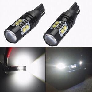 2X-50W-921-912-T10-T15-LED-6000K-HID-White-Car-Backup-Reverse-Lights-Bulb-12-24V