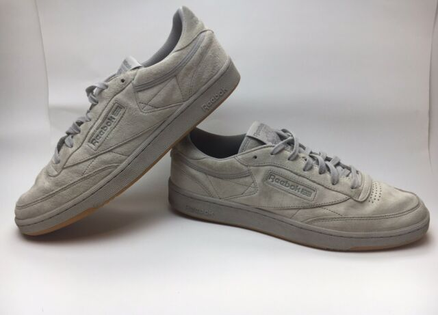 Reebok Club C 85 Tg Mens Shoes Steel Carbon Gum Bd1886 11 5 For Sale Online Ebay