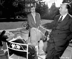 8x10 Print Cary Grant Ingrid Bergman Alfred Hitchcock Notorious 1946 #NOT2