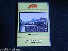 Cardiff,Penzance,Along GWR Lines Part 3 vol 89 DVD B&R Bristol Staple hill