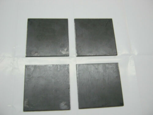 "4 STEEL  PLATES 1//4/"" x 5/"" x 5/""  STEEL GRADE A36"