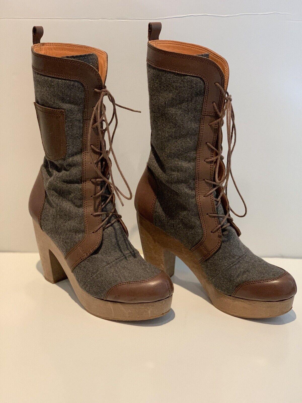 risparmiare sulla liquidazione Rachel Comey Donna  Platform Leather Lace Up Up Up avvio Dimensione 6  Offriamo vari marchi famosi