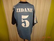 """Real Madrid Adidas Ausweich Trikot 2001/02 """"Realmadrid.com"""" + Nr.5 Zidane Gr.XL"""