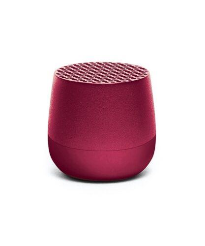 LEXON Mino TWS Bluetooth Mini Speaker - Powerful 3W Speaker - Plum