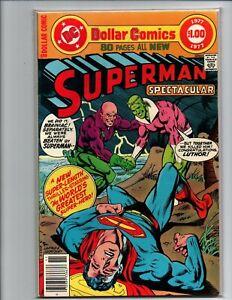 Superman-Spectacular-newsstand-Lex-Luthor-Braniac-1977-Near-Mint