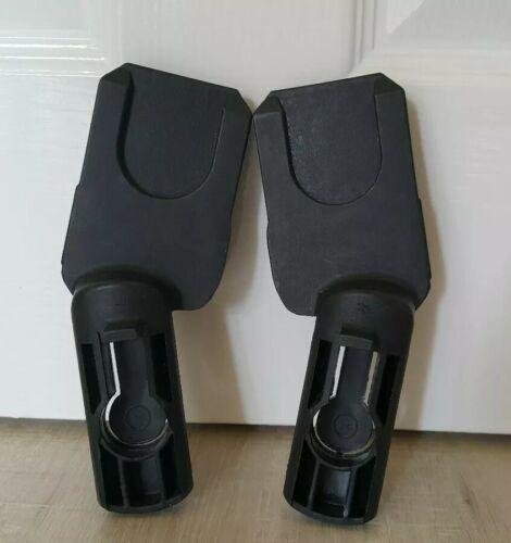 Pair of Quinny Buzz Xtra Maxi Cosi Cabriofix Pebble car seat adapters adaptors