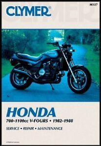 clymer service manual honda vf750c magna 1982 1983 1988 vf750s rh ebay com 1982 Honda Magna 750 Specs 1982 Honda Magna Frame