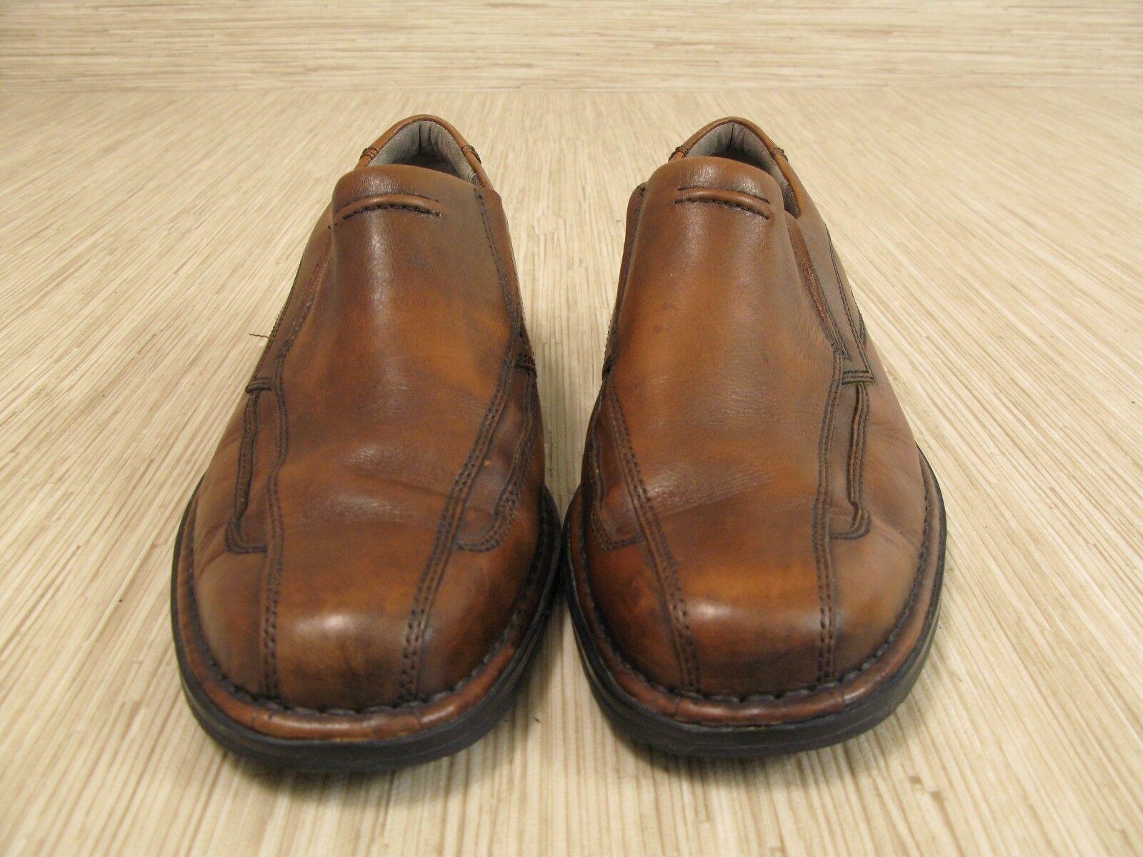... clarks hagen de cuir taille brun taille cuir de mocassins occasionnels  de 9 m hommes nous ... a1a795e164e8