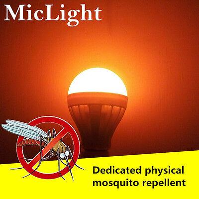 LED Bulb 7/9/12W Anti-Mosquito Insect Zapper Flying Moths Killer Light lamp