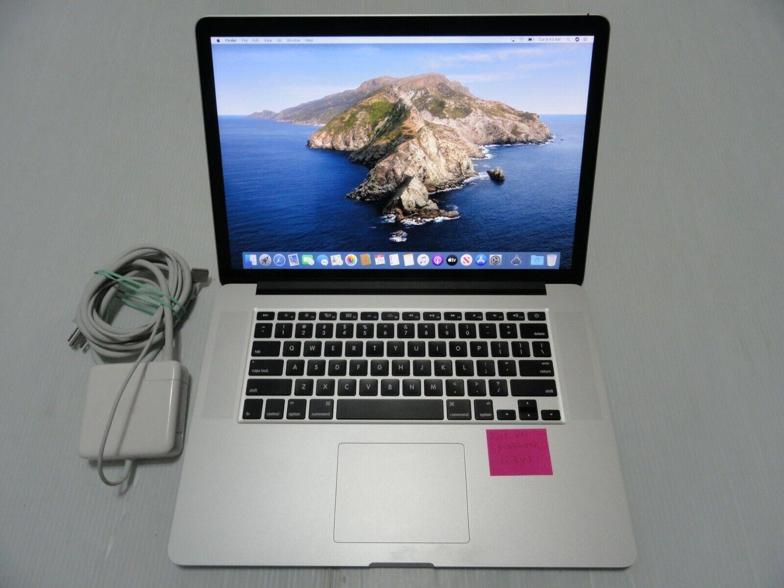 Great Apple MacBook Pro A1398 15.4