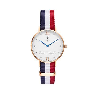 Orologio donna TWIG KLINE oro/bianco classico minimal vintage