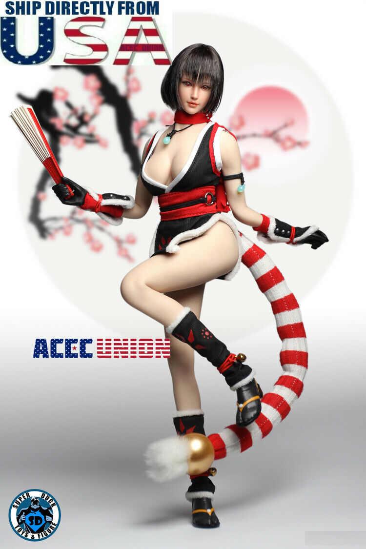 1 6 The King Of Fighters Mai Shiranui Figure Full Set with PHICEN TBL S10D USA