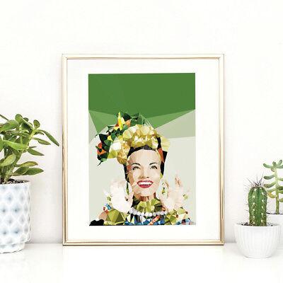 NEW Geometric Carmen Miranda print Women's by Studio Cockatoo