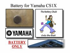 Battry for Yamaha CS1X Control Synthesizer - Internal Memory Replacement Battery