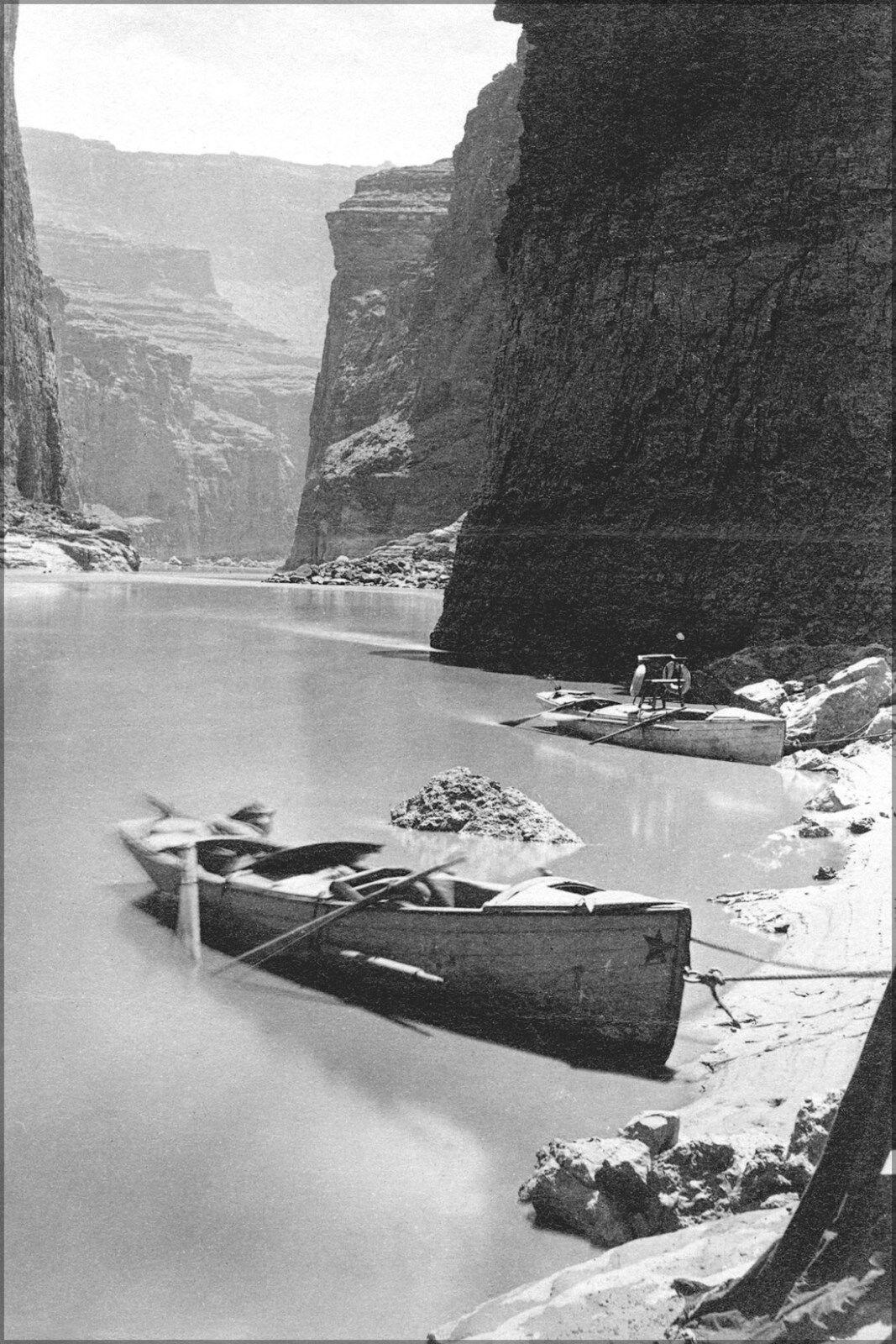 Plakat, Viele Größen; Noon Tag Rest in Marmor Canyon ab des Zweiten Powell Exped