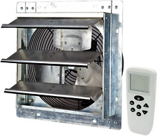 Iliving 12 Inch Smart Remote Shutter Exhaust Fan With Thermostat Humidistat Va