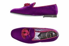 Tom Ford 7US/6UK William Velvet Evening Slipper Fuchsia Purple With Tassel