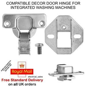 Ignis  Washing Machine Decor Cupboard Door Built In Integrated Hinge