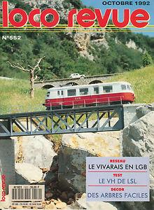 LOCO-REVUE-552-DE-1992-L-039-AUTORAIL-RENAULT-VH-DE-LSL