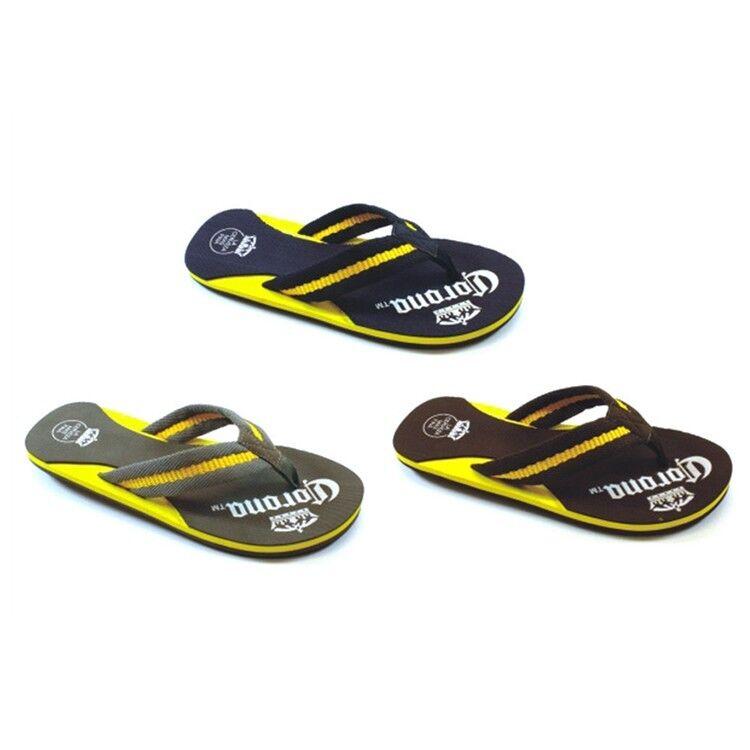 854b44b035c61 Mens Mens Mens Corona Sandals Flip Flop Corona Extra Men s Sizes Beach  Sandals CR2020 7cf105