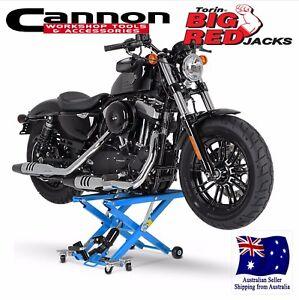 ATV-SCISSOR-LIFT-Bike-Jack-Hydraulic-Lift-Harley-Davidson-Yamaha-Motorcycle