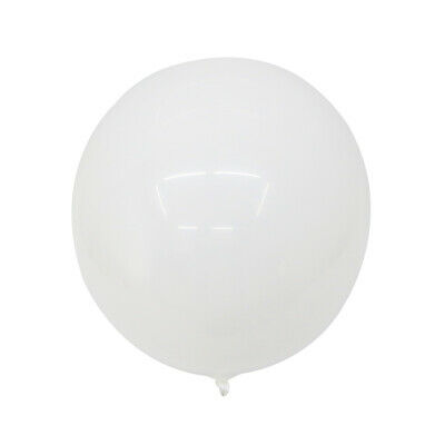 80cm Riesen Luftballon Silber Helium Bubble Ballon Kugelrund Deko Party Geschenk