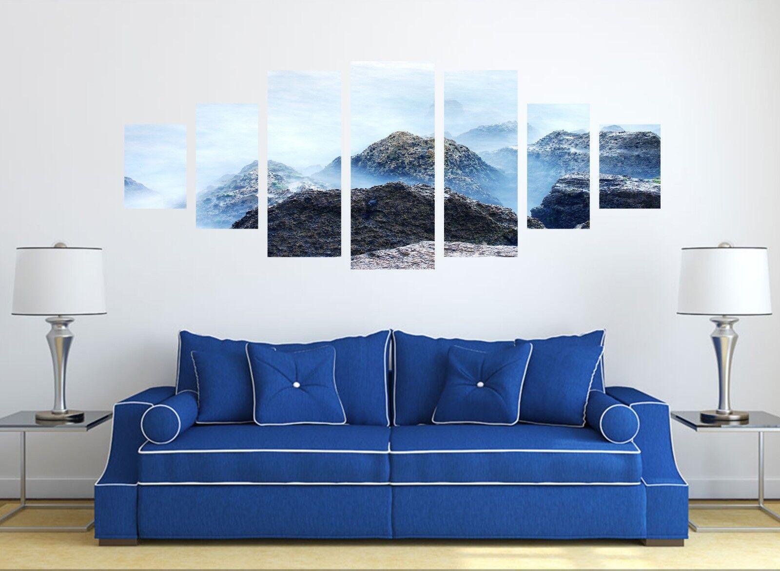 Montaña 3D 818 impresión sin enmarcar Papel de Parojo Calcomanía Decoración De Parojo Parojo Interior AJ Jenny