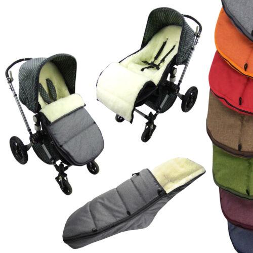 BAMBINIWELT Winterfußsack Fußsack für BUGABOO Sitzauflage Lammwolle Mod.K