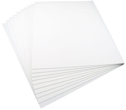 X 12 in environ 30.48 cm Bulk Pack Plasticard plastique SCALE MODEL BUILDING CARTE BLANC 9 in environ 22.86 cm
