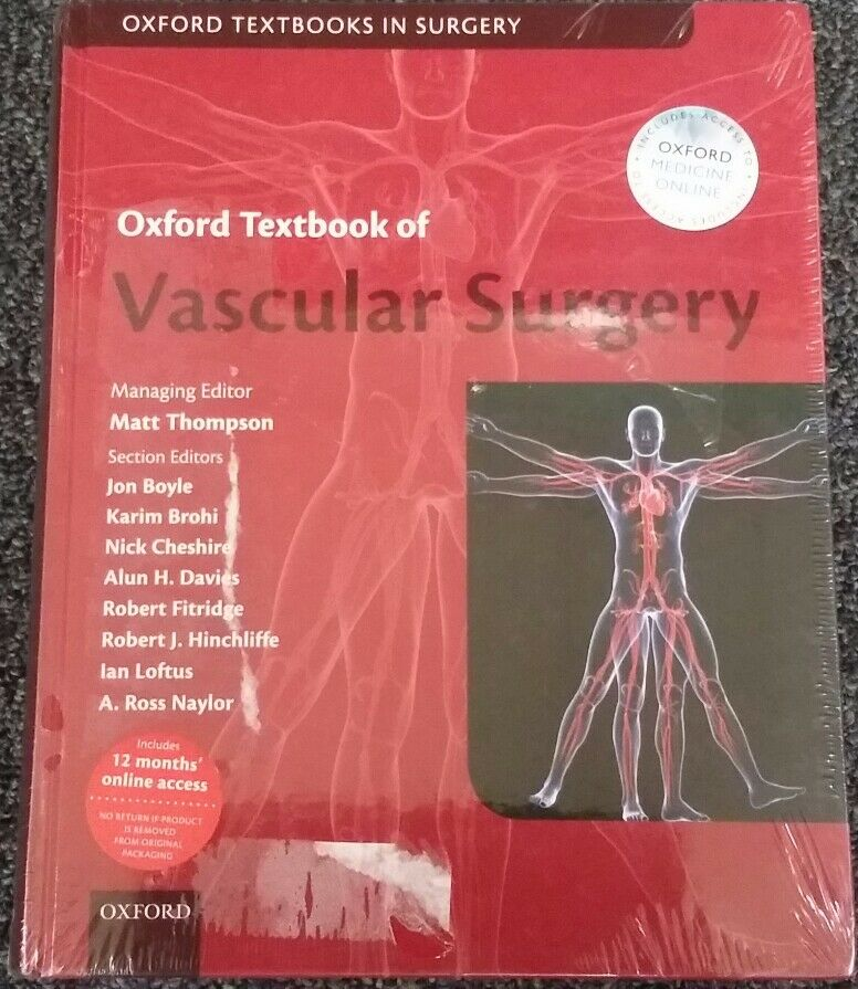 Oxford Textbook of Vascular Surgery (2016, Hardcover) | eBay