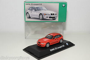 SCHUCO-BMW-Z3-COUPE-2-8-RED-MINT-DEALER-BOXED