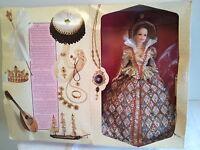 Vintage 1994 Collectible Barbie Doll Queen Elizabethan Super Rare