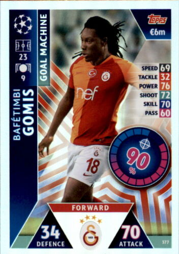 mapa 377-bafetembi gomis-Goal Machine Champions League 18//19