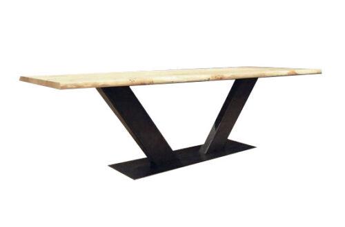 base per tavolo, Gambe tavolo metallo industrial desing legs modern ...