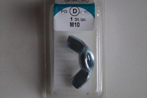 Eisen Flügelmuttern und Flügel Schrauben M3 M4 M5 M6 M8 M10 M12 Muttern von HSI