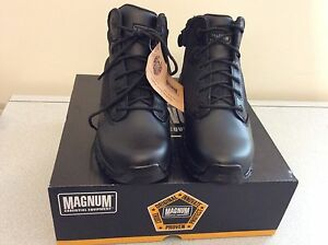 5cebf777fcf Details about Magnum Men's Viper Pro 5.0 Waterproof Ankle Boot Tactical  Utility Black Size 8