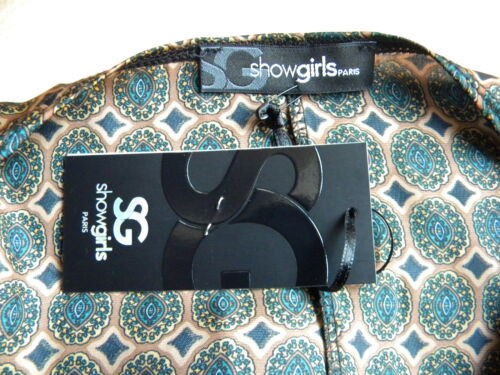 Showgirls Model Sg Dress Paris 2 38 Verde Charleston Topaz Beige 40 T daURww