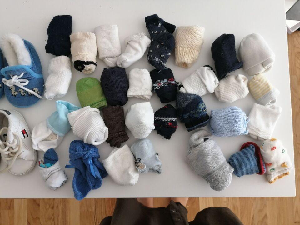 Strømper, Blandet sokker og sko, Blandet