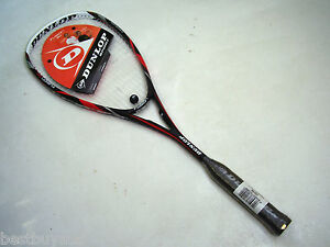 NEW-DUNLOP-FUSION-90-GRAPHITE-SQUASH-RACQUET-amp-COVER-RRP-140