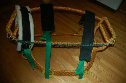 Colorful Horse//Camel Off Billet and Latigo Nylon Webbing