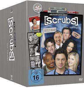SCRUBS-DIE-ANFANGER-Die-komplette-Serie-31-DVDs-NEU-OVP