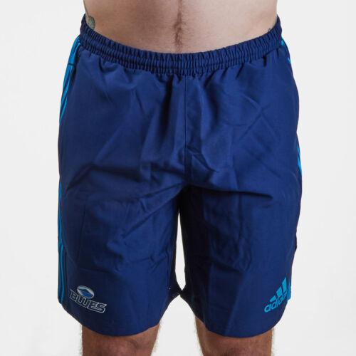 ADIDAS Da Uomo Blues 2019 SUPER Rugby Pantaloncini in tessuto di formazione Pantaloni Bottoms Blu