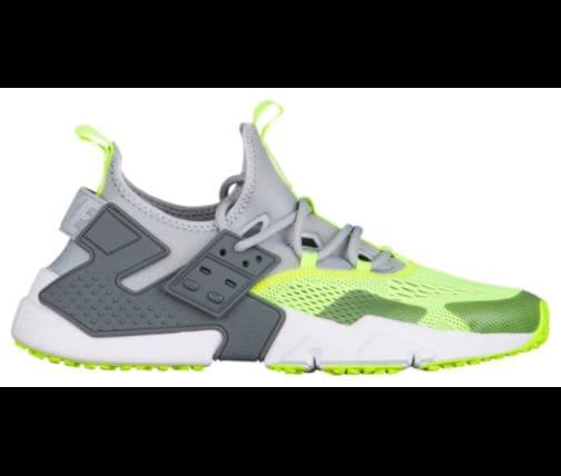 Men's Nike Air Huarache Drift BR - O1133001 - Grey Volt - Size 10